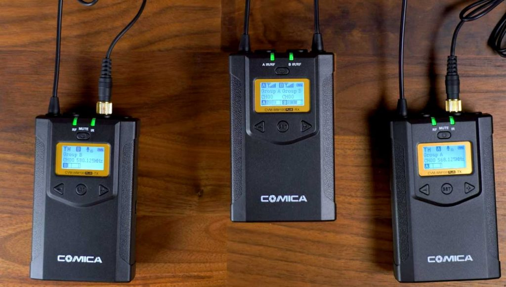 Comica CVM-WM100 Wireless Microphone