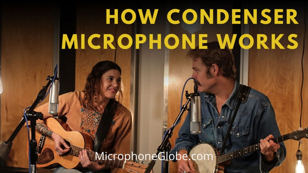 How condenser microphone works